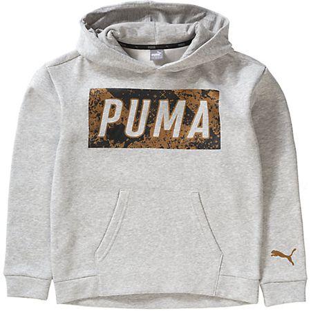 ccba0b2fe8d437 Sweatshirt mit Kapuze grau Mädchen Kinder