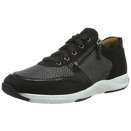 brand new 7d75c bfbaf Ganter Gianna, Weite G, Damen Damen Sneakers, Schwarz (Schwarz 0100), 40 EU  (6.5 UK)