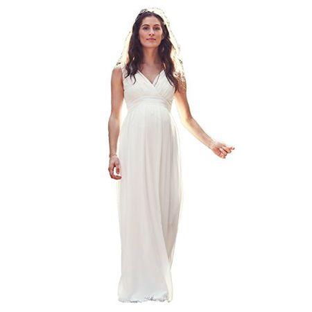 4855e1e735d bellybutton Hochzeitskleid Dilara Damen Umstandsmode Kleid Dress  Umstandsbrautkleid 11805 (34