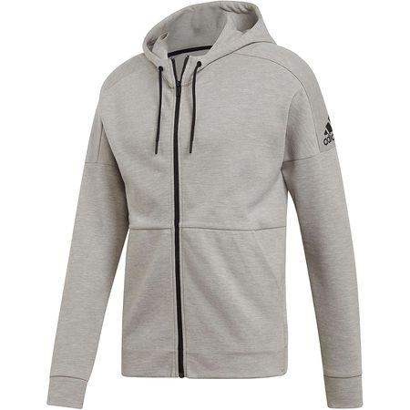 ADIDAS PERFORMANCE Sweatshirt Id Stadium Crew Grau schwarz