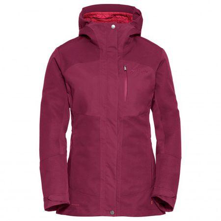 VAUDE Caserina 3in1 Jacket Damen Doppeljacke grau