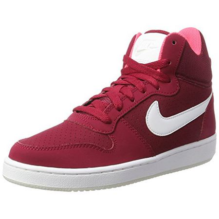 Nike Damen Court Borough Mid Sneaker, Rot (Noble RedWhiteSolar RedPure Platinum), 38.5 EU