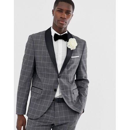on sale eff60 d0aa6 Selected Homme Anzüge in Grau   Luxodo