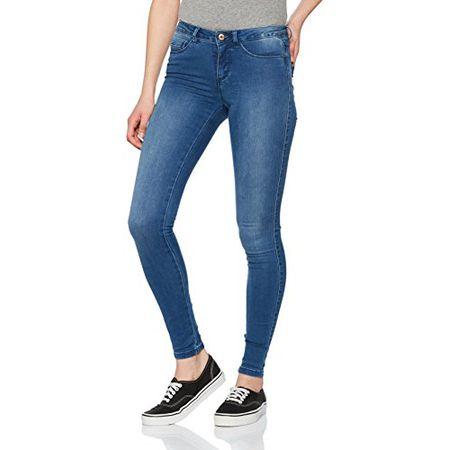 f3c8fc52a5d7 ONLY Damen Skinny Onlroyal Reg SK Jeans BJ11506 Noos, Blau (Medium Blue  Denim Medium