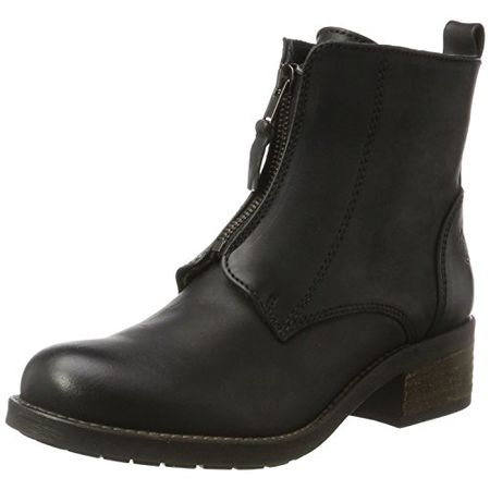 Apple of Eden Damen Dia Biker Boots, Schwarz (Black), 37 EU