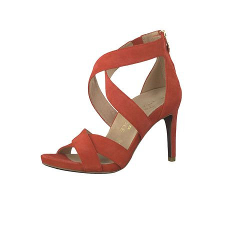 500 Damen Sandaletten Klassische Sandalen Rot Heel Red Sole 22 Heartamp; 1 Sandale High Tamaris 28302 OXnk0w8P