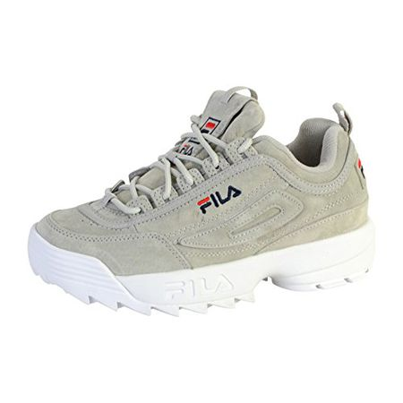 Fila Damen Schuhe/Sneaker Heritage Disruptor S Low Grau 37