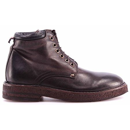 timeless design 01650 c78d1 MOMA Damen Schuhe Stiefeletten Ankle Boots 72503-TB Hannover TMORO Braun  Italy