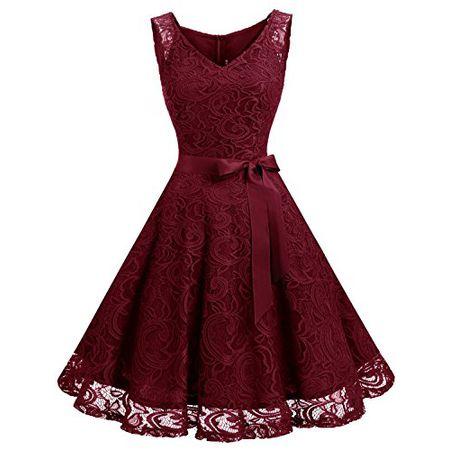 Kleider In Rot Luxodo