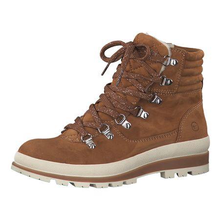 Tamaris 25296, Damen Combat Boots, Rot (Red 500), 39 EU (6