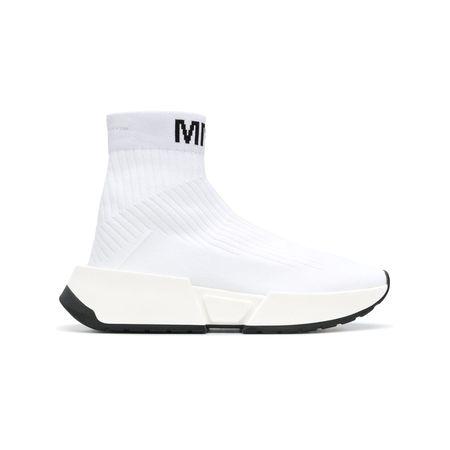 Mm6 Margiela SohleSchwarz Dicker Sock sneakers Maison Mit NX8Ok0wnPZ
