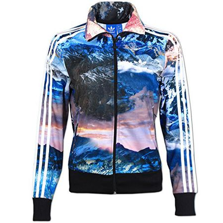 Damen Jacke adidas Originals Mountain Clash Firebird TT Jacket