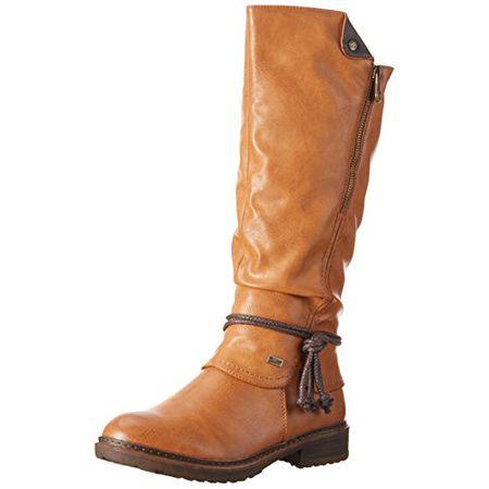 Rieker Damen 94758 Langschaft Stiefel, Braun (CayenneSchoko24), 36 EU