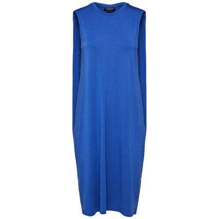 online store 3b92f af405 SELECTED FEMME Kleid blau