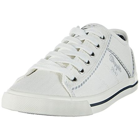 gutes Geschäft Offizielle Website 100% Spitzenqualität Wrangler Damen Starry America Sneakers, Weiß (White), 39 EU