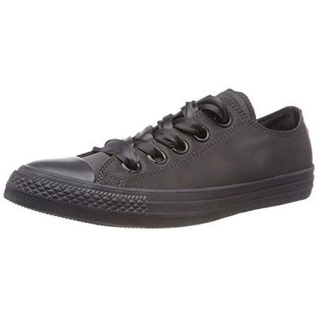 97bba56c90 Converse Damen CTAS Big Eyelets OX Almost Black Sneaker, Schwarz (Almost  Black/Almost