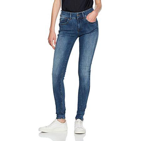 Neue G-Star RAW Damen 3301 Ultra High Waist Super Skinny Jeans Gr W27//L30 Blau
