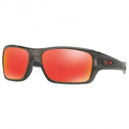 aa23b2cd7dd7bf Oakley - Turbine XS Iridium Cat:3 VLT 17% - Sonnenbrille rot/grau