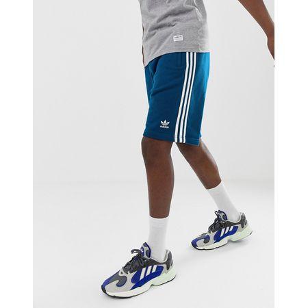 adidas Originals - Shorts in Schwarz mit 3 Streifen Styling