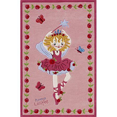 Prinzessin Lillifee 1480310600 Dyckhoff Waschhandschuh 17 x 23 cm rosa 600