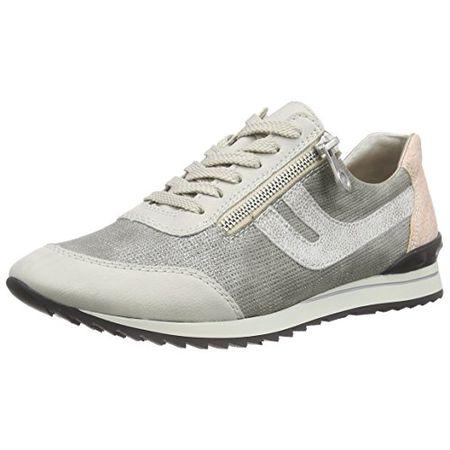 Rieker Damen M1327 Women Low Top Sneakers Beige