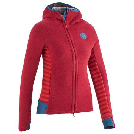 Edelrid Women's Wo Creek Fleece Jacket II Fleecejacke Gr XS rotrosa