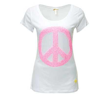 Key Largo Damen T-Shirt Kurzarmshirt Shirt (XL, White) 78856608e5