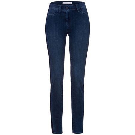 180bf370040cf5 Brax Damen Röhrenjeans mit Push Up, Skinny Fit, regular blue