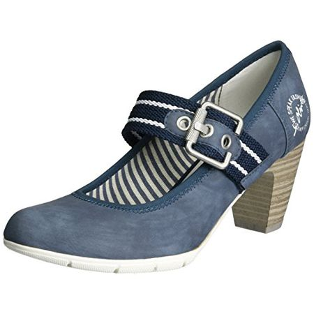 s.Oliver Damen 24404 Pumps, Blau (Navy 805), 37 EU