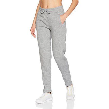 ESPRIT Sports Damen Sporthose 107EI1B014 Straight, Grau (Medium Grey 2 036), 38 (Herstellergröße: M)