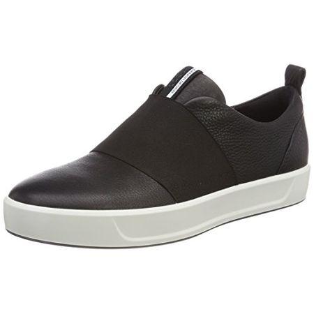 Ecco Damen Biom Street Sneaker, Schwarz (Black 1001), 40 EU