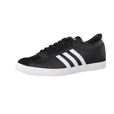 adidas Damen Cloudfoam Daily QT LX W Sneaker Low Hals, Schwarz (NegbasNegbasPlamet), 40 EU