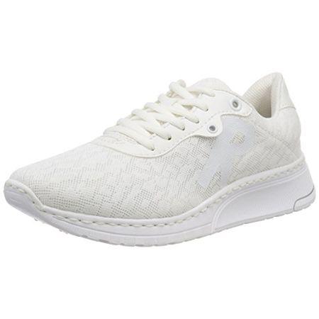 Rieker Damen N5010 Sneaker, Weiß (WeissWeissWeiss), 36 EU