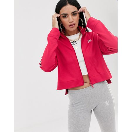 adidas Originals Bellista Rosa Trainingsjacke Rosa