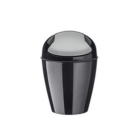 Kunststoff solid senfgr/ün 29 x 29 x 44,5 cm koziol Schwingdeckeleimer 12 L Del M