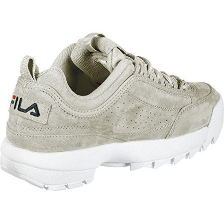 low cost 229f1 94a45 Fila Damen Schuhe/Sneaker Heritage Disruptor S Low Grau 36