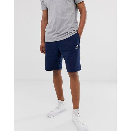 Converse – Chuck Patch Graue Jersey Shorts 10002136 A01 Grau