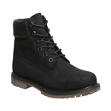 Timberland Damen 6 in Premium Boot W A1K38 Sneaker, Mehrfarbig (Black 001), EU