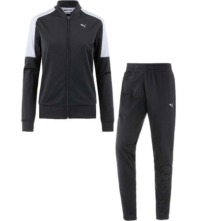 PUMA Trainingsanzug Trainingsanzüge schwarz Damen