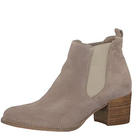 Tamaris Damen 25401 Chelsea Boots, Grün (Cigar), 39 EU