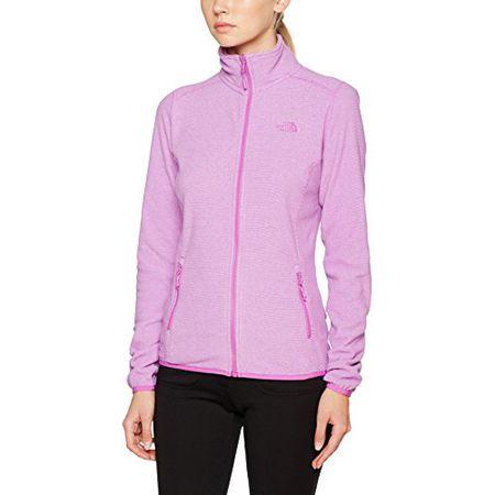 new styles 88874 3dae4 The North Face Damen Jacke 100 Glacier, Violett (Sweet Violet), 52  (Herstellergröße: X-Large)