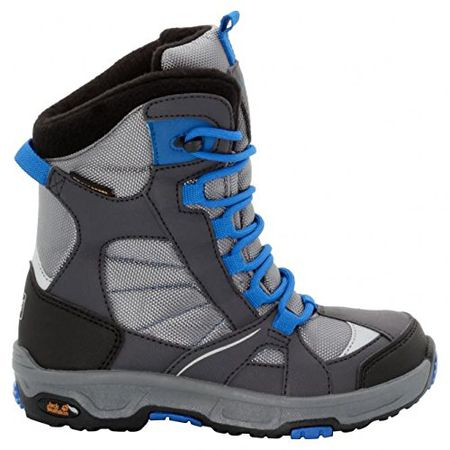 the latest ee4f6 36694 Jack W. Winterboots, Groesse 33, grau/blau