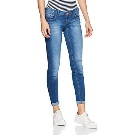 c3232f556ccb ONLY Damen Skinny Onlcoral SL SK Dnm Jeans SOO1743B Noos, Blau (Medium Blue  Denim