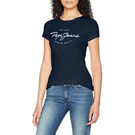 a4f94a85ac7080 Pepe Jeans Damen T-Shirt Charleen