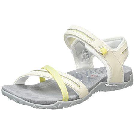 Merrell Terran Cross Ii, Damen Sandalen, Weiß Weiß Größe: 37 EU (4 UK)