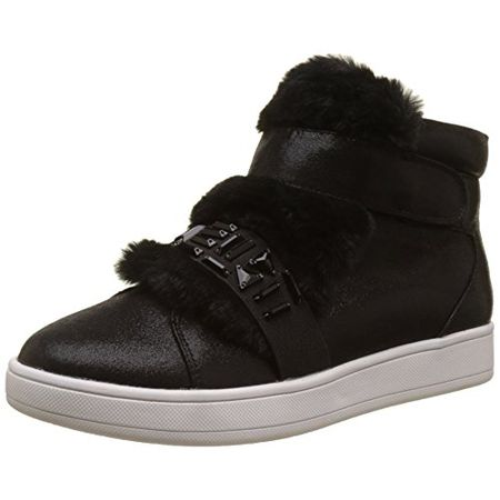 brand new ff0a1 7aa2e Buffalo Shoes Damen 16T44-3 Fabric Shiny Hohe Sneaker, Schwarz (Black 01),  39 EU