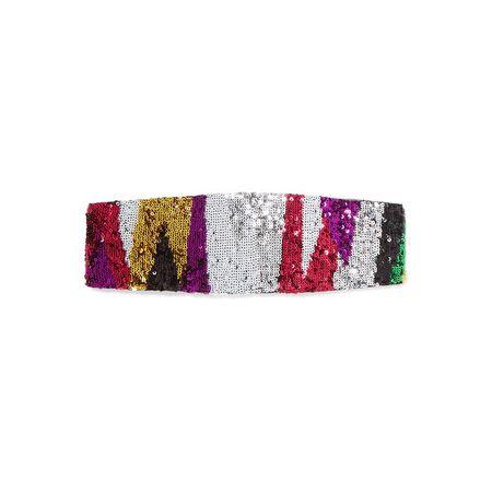 53483c75440883 Missoni - Haarband Aus Strick In Häkeloptik Mit Pailletten - Pink