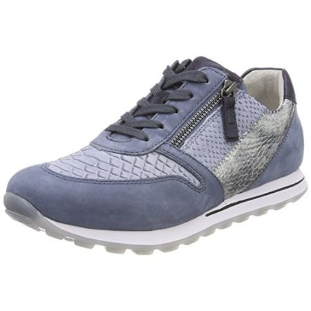 Gabor Shoes 46.951, Damen Sneaker, Blau (46 dark blue k
