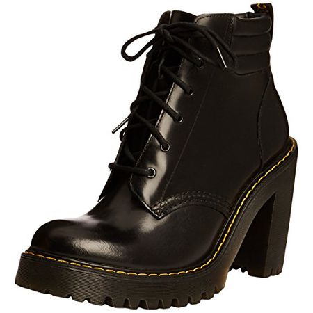 Dr. Martens Persephone ButteroPU Black, Damen Combat Boots, Schwarz (Black), 41 EU (7 Damen UK)