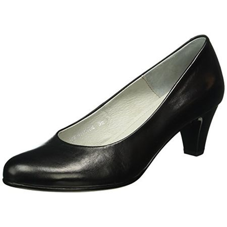 Buffalo London Damen ES 30755 Mestico Pumps, Schwarz (Preto 01), 39 EU
